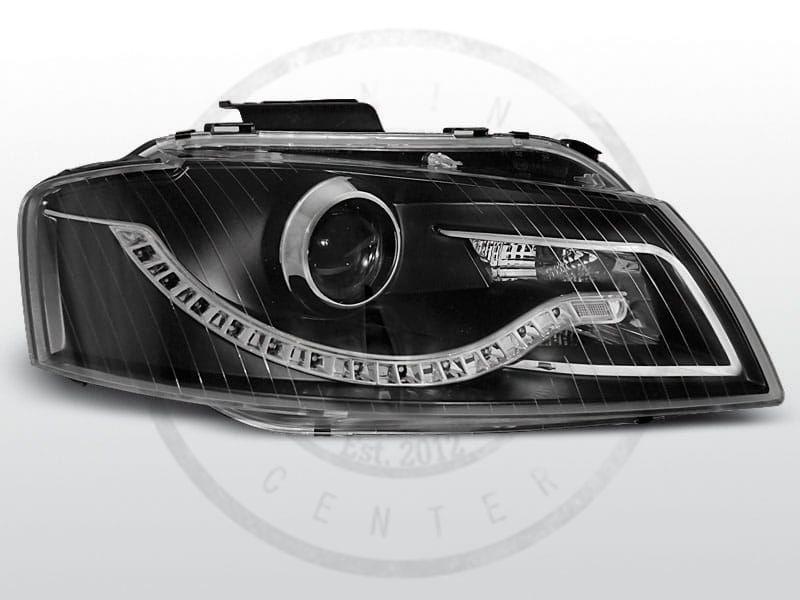 Lampy Przednie Audi A3 8p 0503 0308 Daylight Black