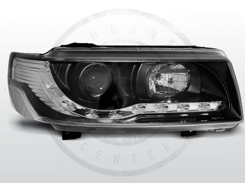 Lampy Przednie Vw Passat B4 1193 0597 Daylight Black