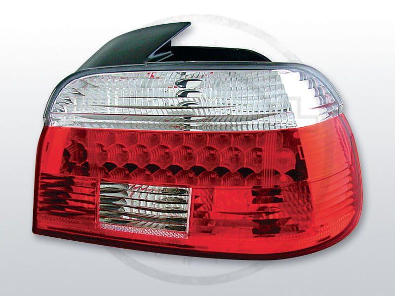 Lampy Tylne Bmw E39 0995 0800 Red White Led