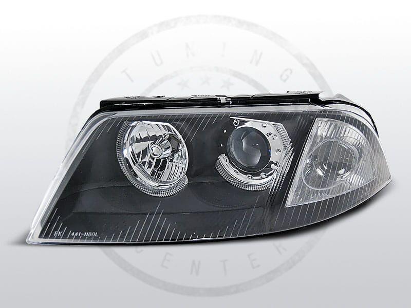 Lampy Przednie Vw Passat 3bg B5 Fl 0900 0305 Angel Eyes Black