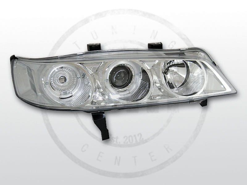 Lampy Przednie Honda Accord 94 97 Angel Eyes Chrome Usa