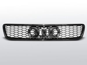 Grill (atrapa) AUDI A4 (B5) RS-TYPE 11.94-09.00 BLACK