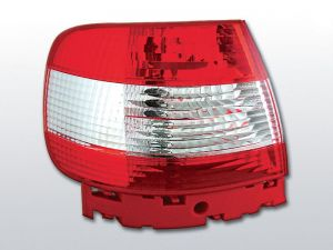 Lampy tylne AUDI A4 11.94-09.00 RED WHITE