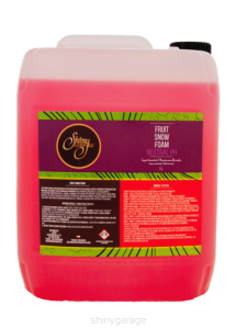 Piana aktywna Shiny Garage Fruit Snow Foam Neutral pH 5L
