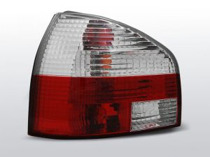 Lampy tylne AUDI A3 8L 08.96-08.00 RED WHITE
