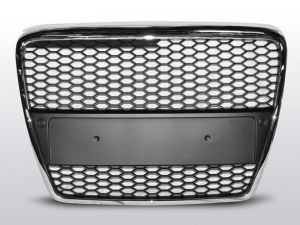 Grill (atrapa) AUDI A6 (C6) RS-TYPE 04.04-08 CHROME
