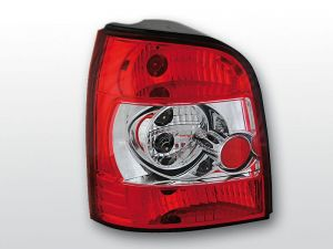 Lampy tylne AUDI A4 11.94-01 RED WHITE