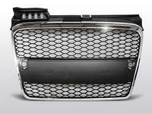 Grill (atrapa) AUDI A4 (B7) RS-TYPE 11.04-03.08 CHROME