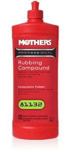 Mothers PROFESSIONAL RUBBING COMPOUND - Średnioziarnista pasta polerska (946ml)