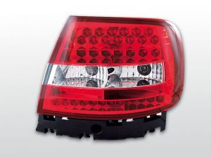 Lampy tylne AUDI A4 11.94-09.00 RED WHITE LED