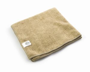 Chemical Guys Workhorse Professional Microfiber Tan Towel 3 Pack - Zestaw trzech mikrofibr