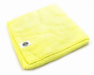 Chemical Guys Workhorse Professional Microfiber Yellow Towel 3 Pack - Zestaw trzech mikrofibr