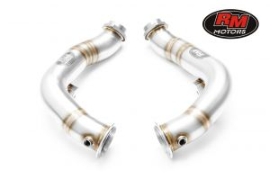 RM Motors Downpipe Decat BMW F12 650i, 650ix