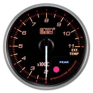 Auto Gauge Premium Exhaust Gas Temperature - Wskaźnik temperatury spalin EGT 52mm