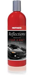 Mothers REFLECTIONS® TOP COAT - Wosk w mleczku - efekt mokrego lakieru - etap 2 (473ml)