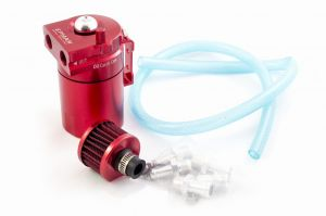 Epman Oil Catch Tank Red - Zestaw z filtrem