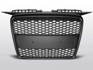 Grill (atrapa) AUDI A3 RS-TYPE 06.05-03.08 MATT BLACK