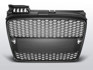 Grill (atrapa) AUDI A4 (B7) RS-TYPE 11.04-03.08 MATT BLACK
