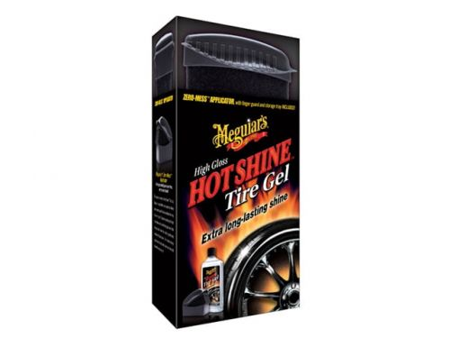 Meguiar's HOT SHINE TIRE GEL KIT - Środek do pielęgnacji opon z aplikatorem 355 ml